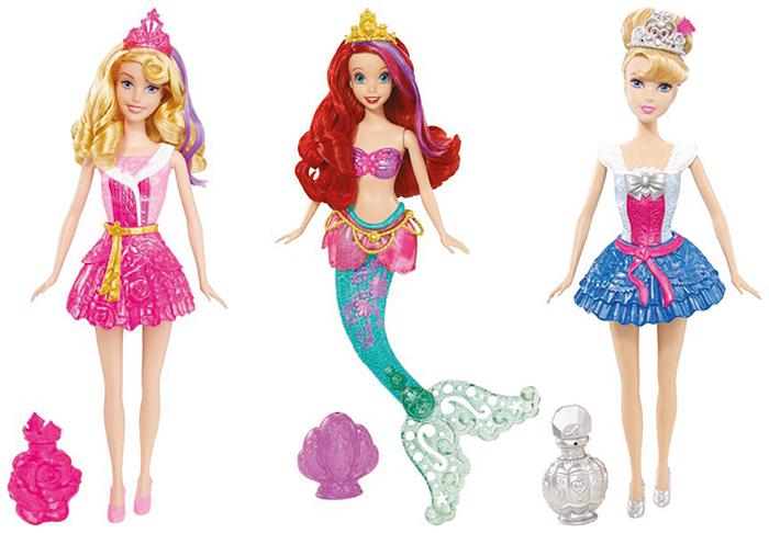 Mattel Disney Princezna a kouzlo vody asst