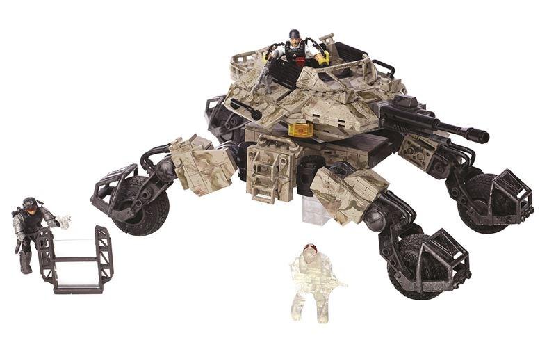 Mega Bloks CoD 4x4 obrněné vozidlo s věží a dělem