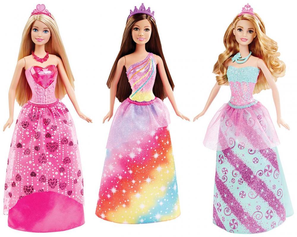 MATTEL Barbie PRINCEZNA, více druhů