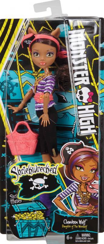 MATTEL Monster High MOŘSKÉ GHÚLKY, více druhů