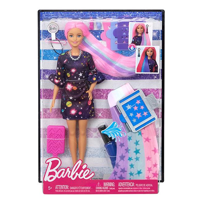 MATTEL Barbie s žužu vlasy, běloška