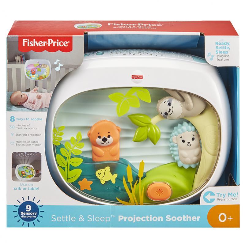 Fisher Price Usínáček na postýlku s projekcí