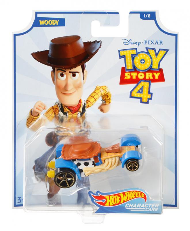 Mattel Hot Wheels tématické auto - Toy Story: Příbeh hraček