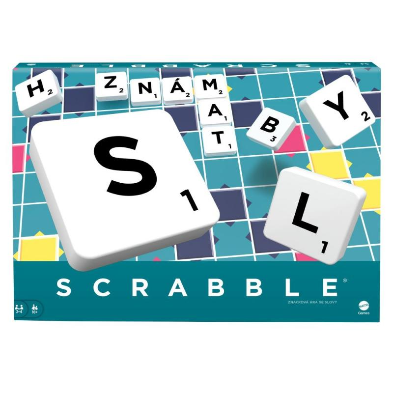 Mattel Scrabble original CZ