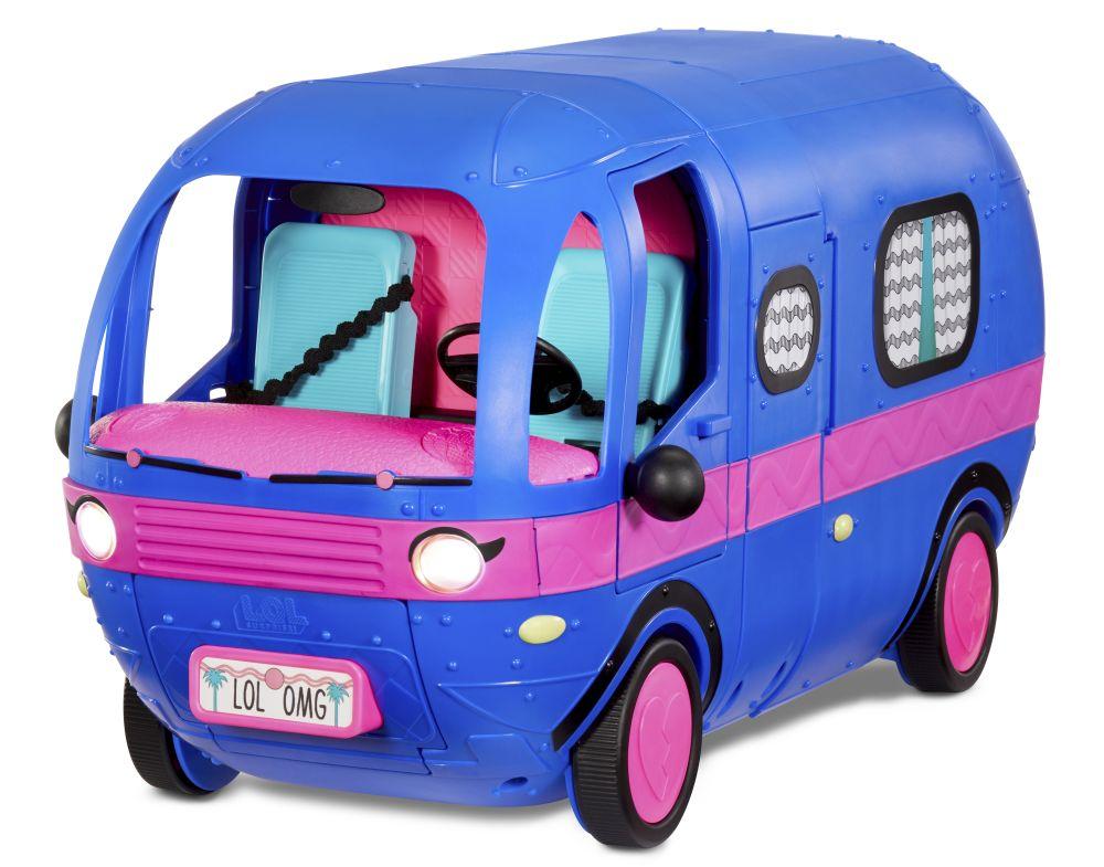 L.O.L. Surprise! Karavan 4v1, elektricky modrá