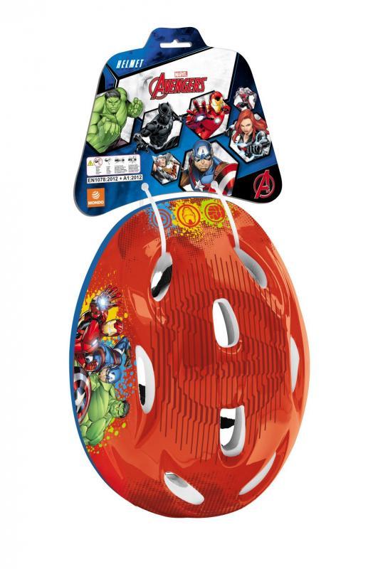 MONDO Dětská bezpečnostní přilba na kolo Licence Avengers