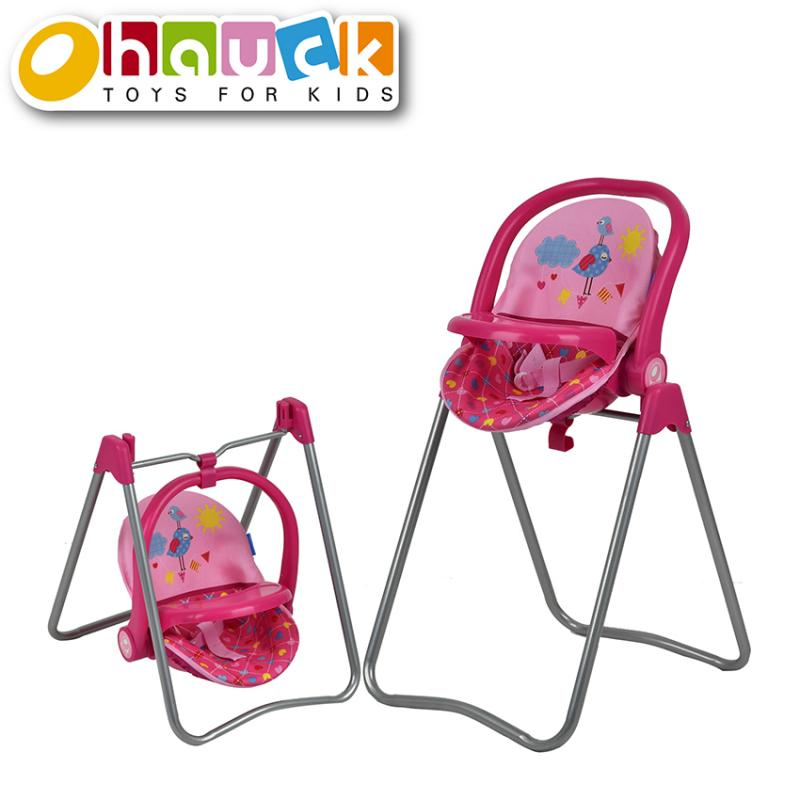 Hauck Jídelní židlička pro panenky 3v1, Birdie