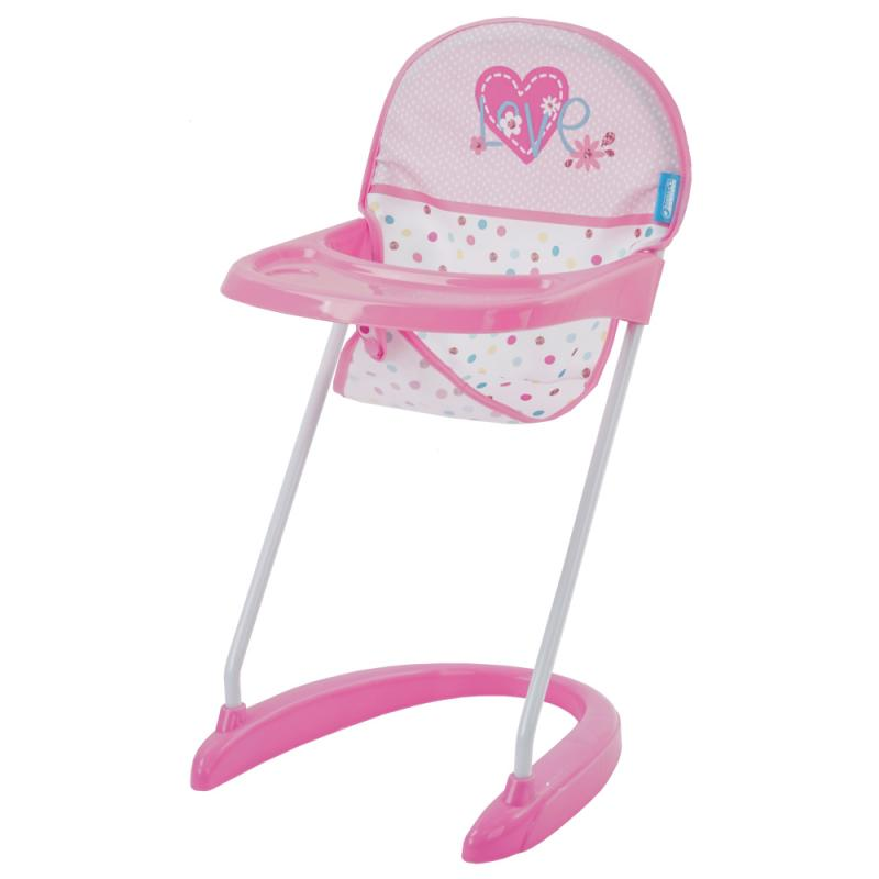 Hauck Látková židlička - srdíčka