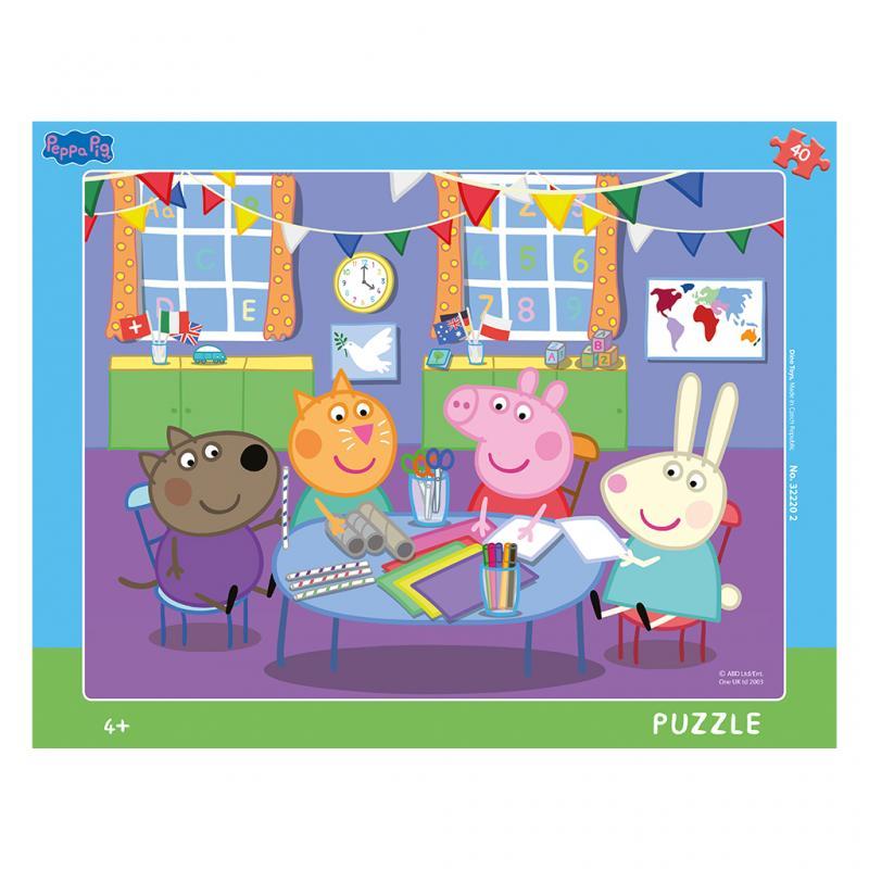 2d8b47d44 Dino puzzle Peppa Pig:Ve školce 40 dílků deskové