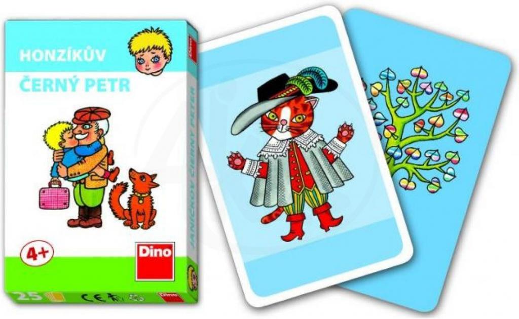 Dino Honzík-karty Černý Petr