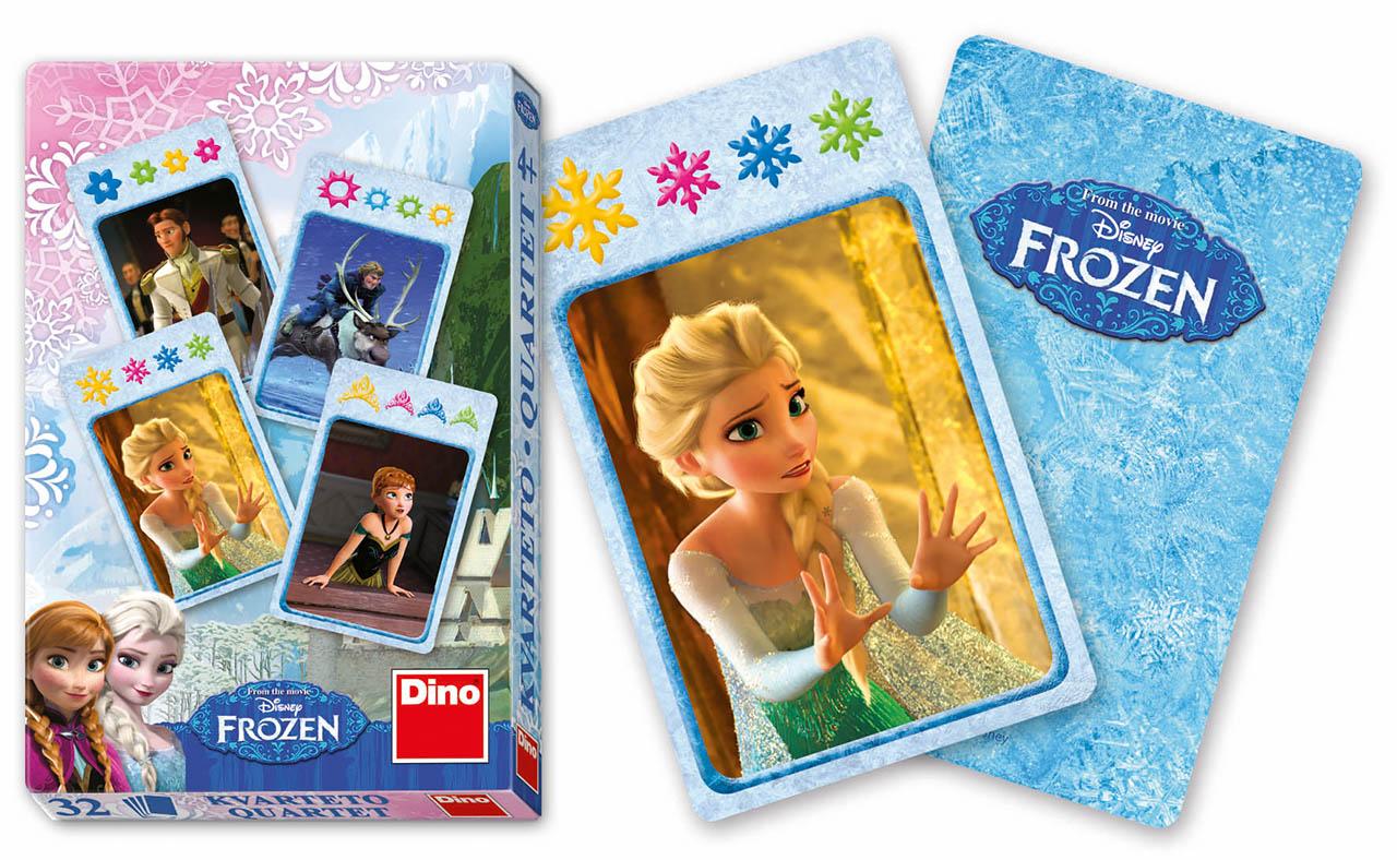 Dino Ledové království Frozen kvarteto