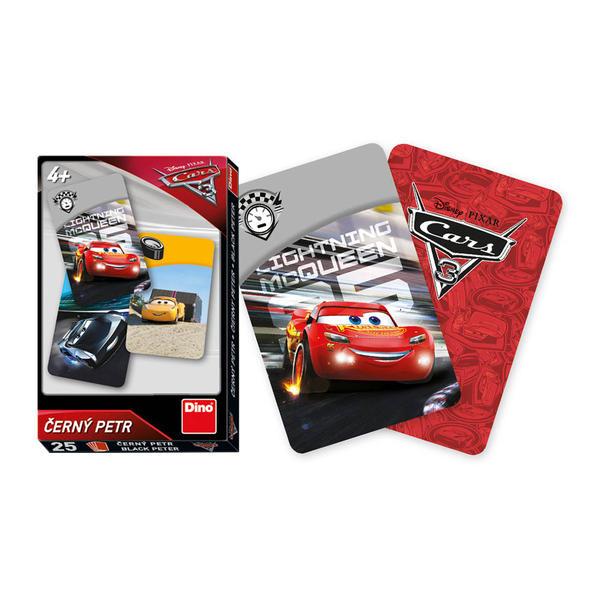 Dino Walt Disney CARS 3: Černý Petr karty