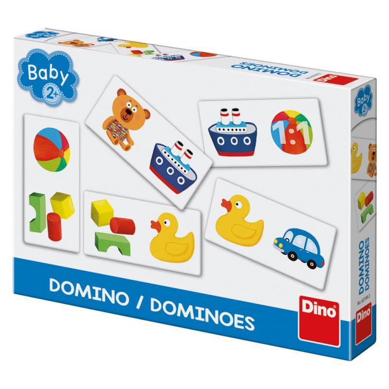 Hračky baby domino