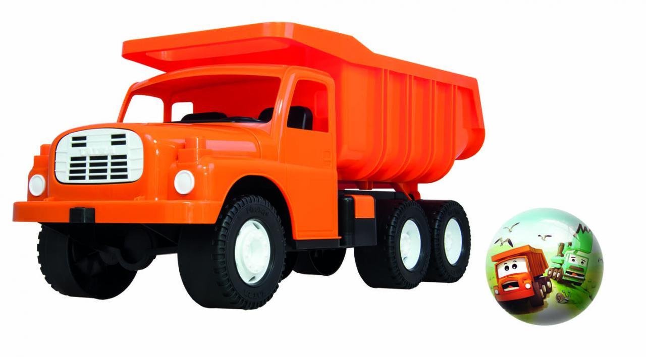 Dino Tatra oranžová velká s Tatra míčem + DÁREK