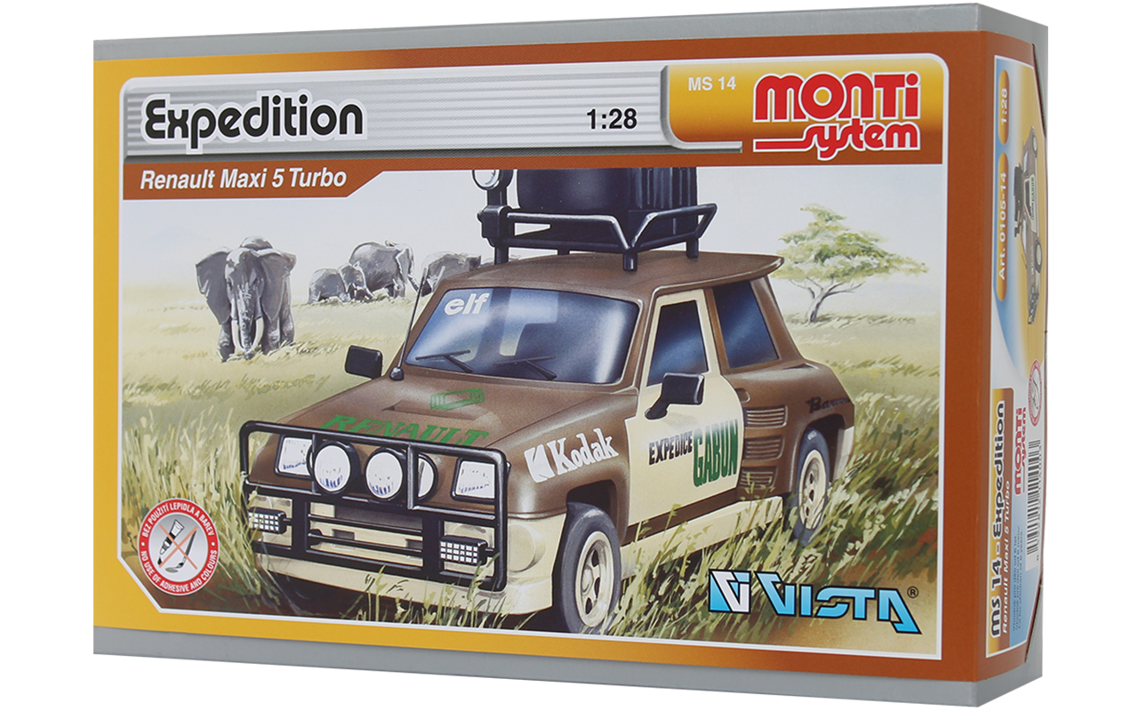 Vista Renault Maxi 5 Turbo Expedition
