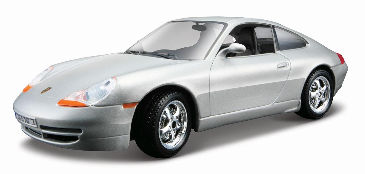 Bburago PORSCHE 911 CARRERA 1:24 stříbrné