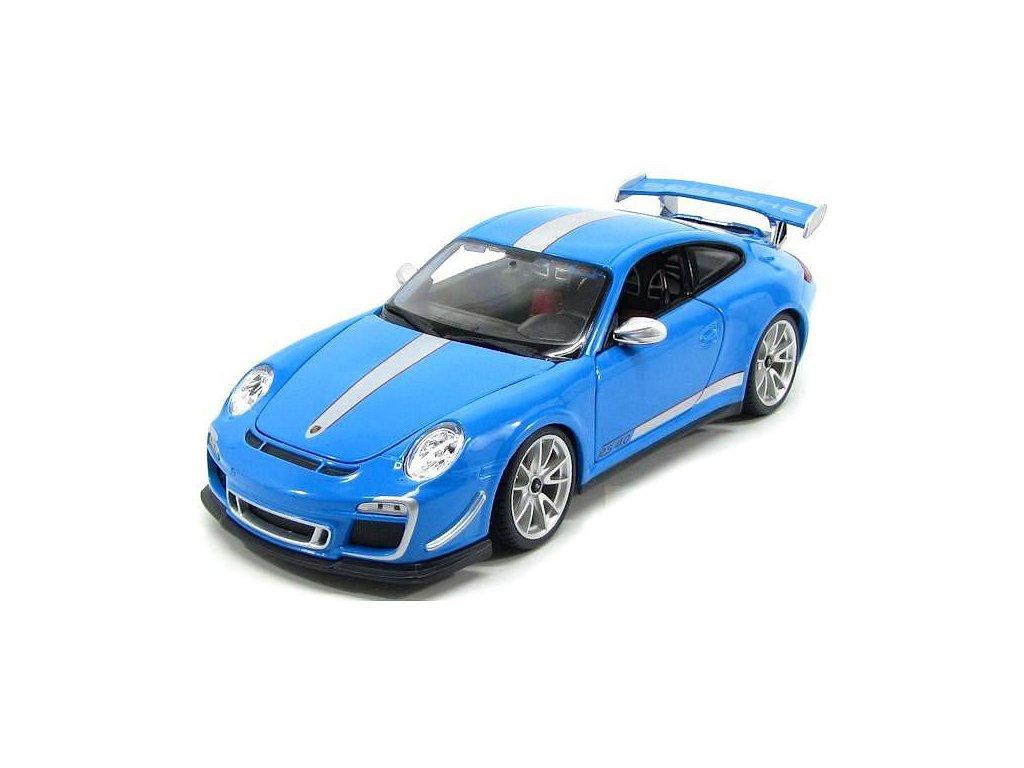 Bburago 1:18 Porsche 911 GT3 RS Blue