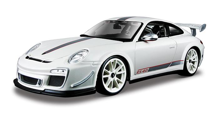 Bburago 1:18 Porsche 911 GT3 RS White