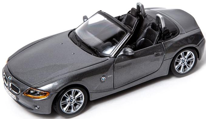 Bburago 1:24 BMW Z4 Metalic Grey
