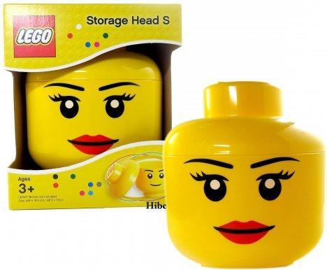 LEGO úložná hlava (velikost L) - dívka