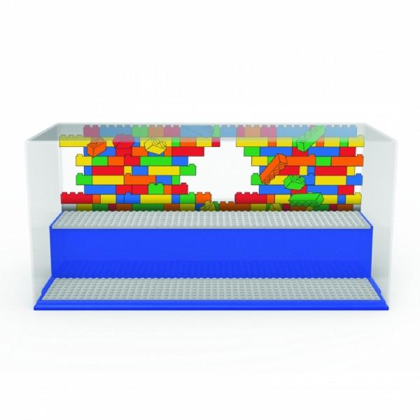 LEGO ICONIC herní a sběratelská skříňka - modrá