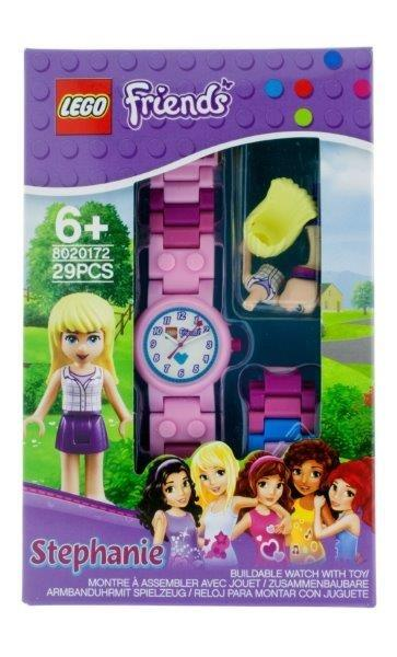 LEGO Friends Stephanie - hodinky s minifigurkou
