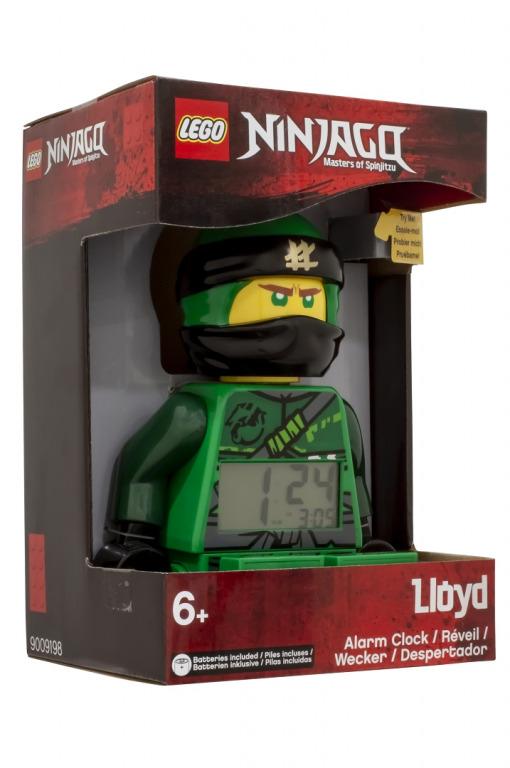 LEGO Ninjago Lloyd - hodiny s budíkem
