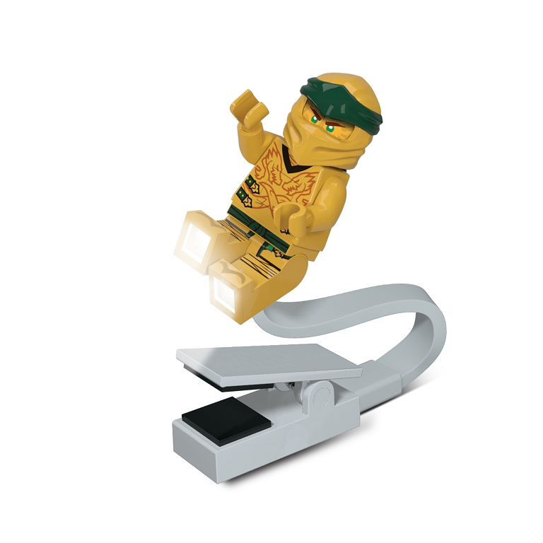 LEGO Ninjago Legacy Zlatý Ninja lampička na čtení