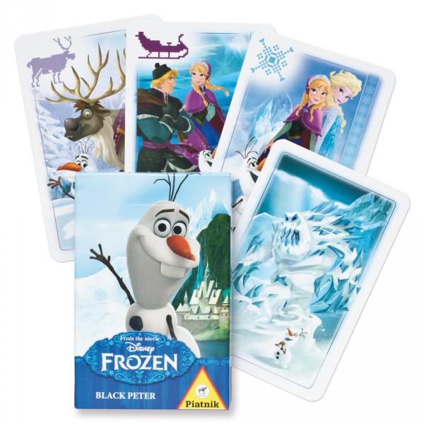 Piatnik Černý Petr - Olaf z ledového království (papírová krabička)