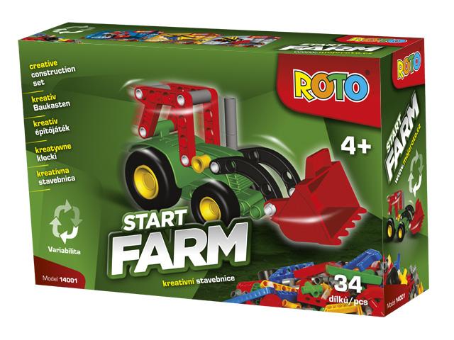 Roto stavebnice začínáme Traktor