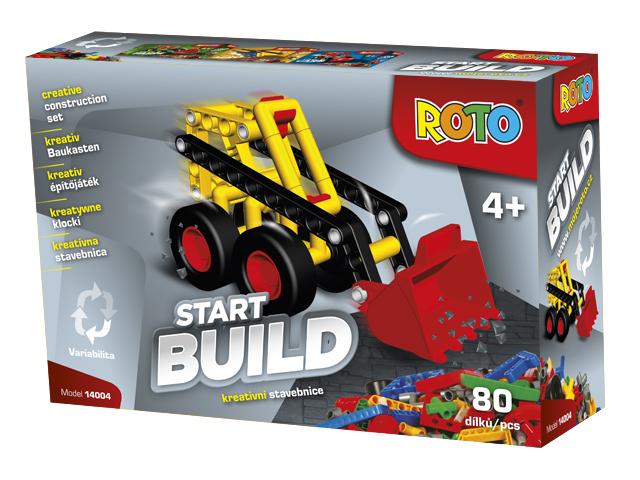 EFKO Roto stavebnice začínáme Buldozer