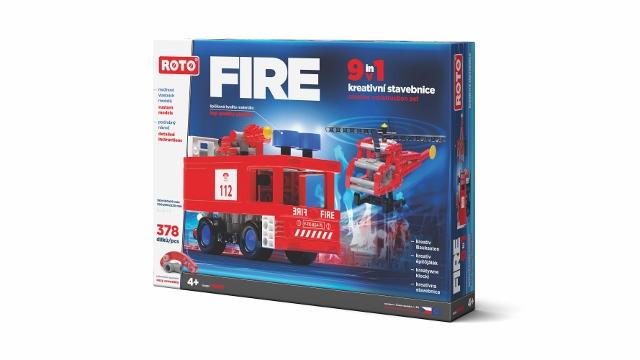 Roto Stavebnice maxi Požární stanice