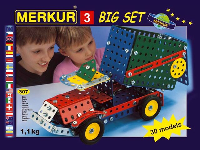 Stavebnice Merkur -Big set 3