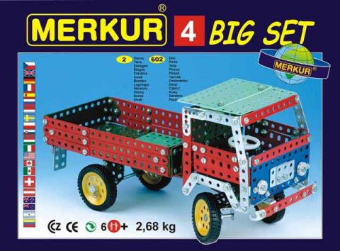 Stavebnice Merkur - Big set 4