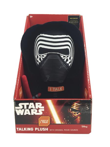 ADC BLACKFIRE Star Wars VII: Mluvící plyš - Kylo Ren 22 cm