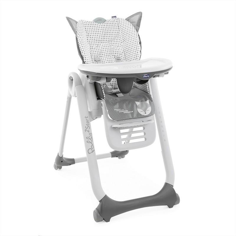 CHICCO Židlička jídelní Polly 2 Start - Foxy