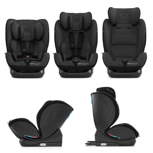Kinderkraft Autosedačka MyWay Isofix black 0-36kg Kinderkraft 2020
