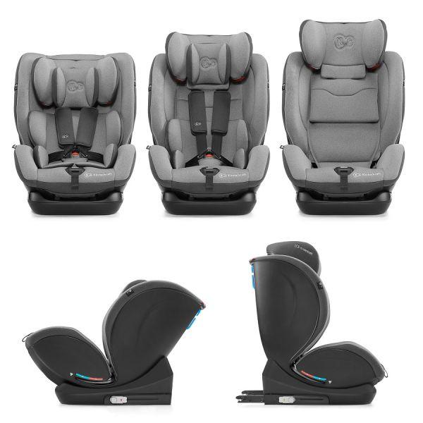 Kinderkraft Autosedačka MyWay Isofix grey 0-36kg Kinderkraft 2020