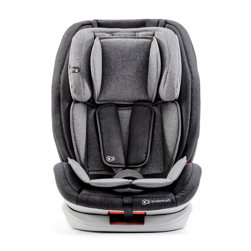 Kinderkraft Autosedačka ONETO3 Isofix Black / Gray 9-36kg 2019