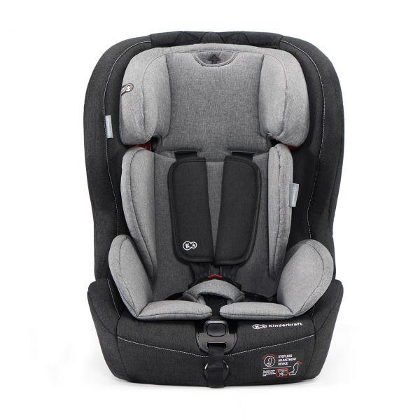 Kinderkraft Autosedačka SAFETY-FIX Isofix Black/Gray 9-36kg 2019