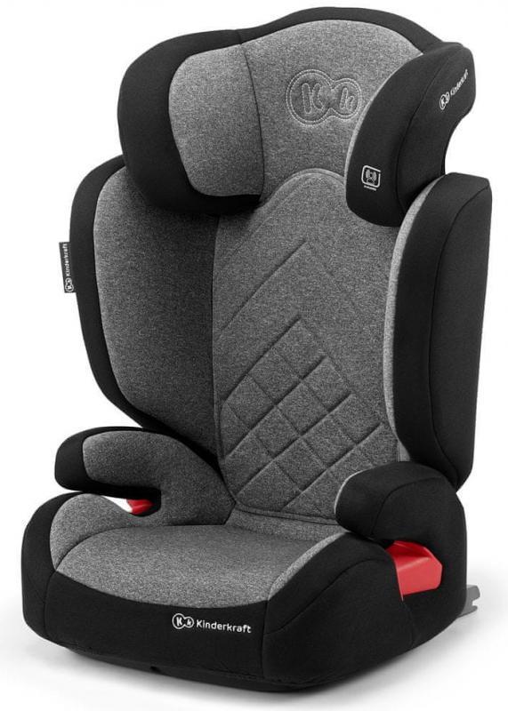 Kinderkraft Autosedačka XPAND Isofix Grey 15-36kg 2019