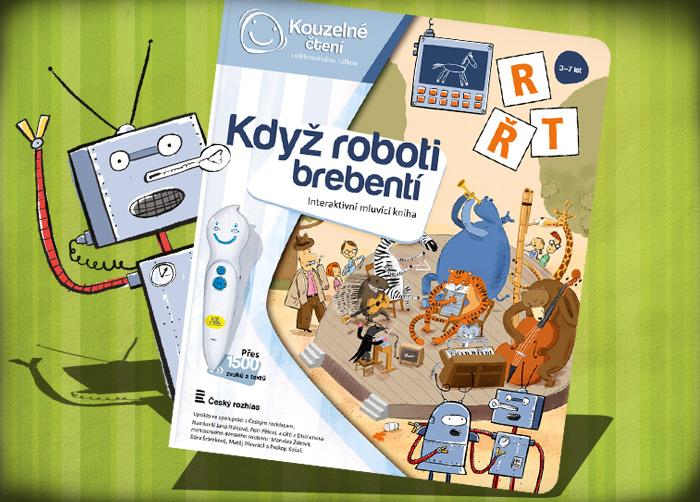 Albi Kouzelné čtení Kniha Když roboti brebent