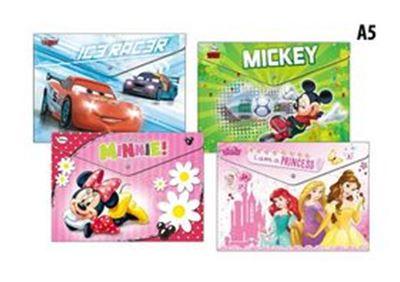 Arka Plastová obálka s drukem A5 potisk Disney