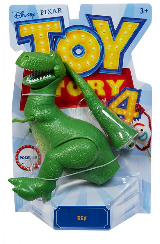 Mattel Toys Story 4: Příběh hraček figurka - Rex