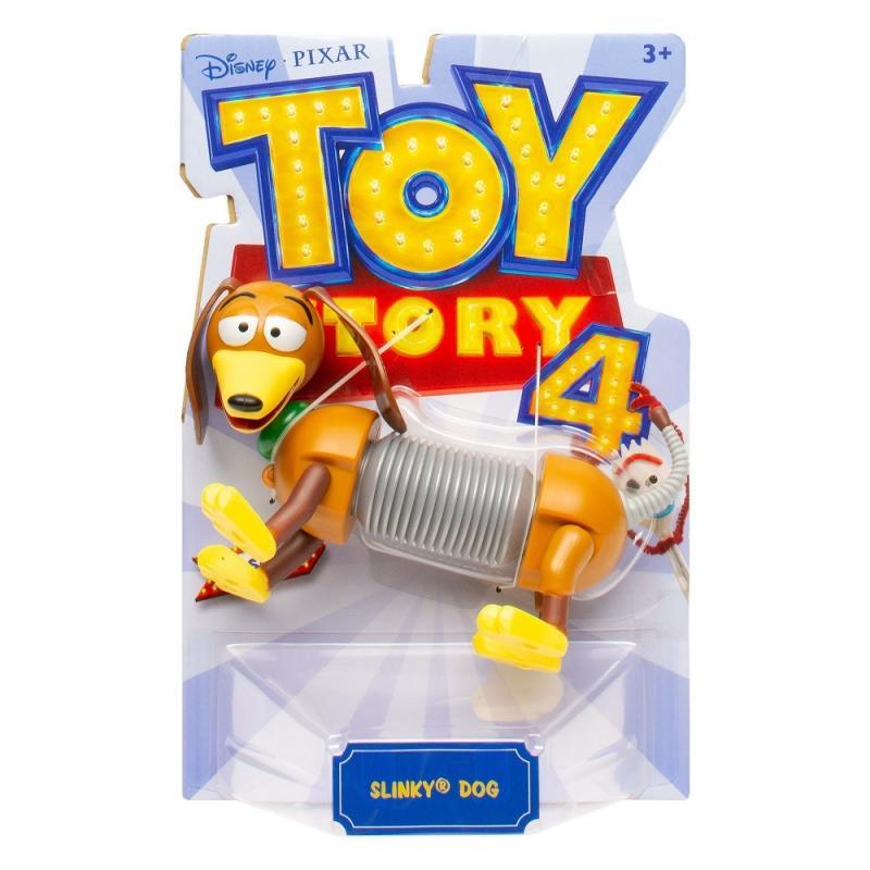 Mattel Toys Story 4: Příběh hraček figurka - Slinky dog