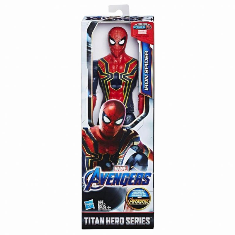 Hasbro Avengers 30cm figurka Titan hero AST B - Iron Spider