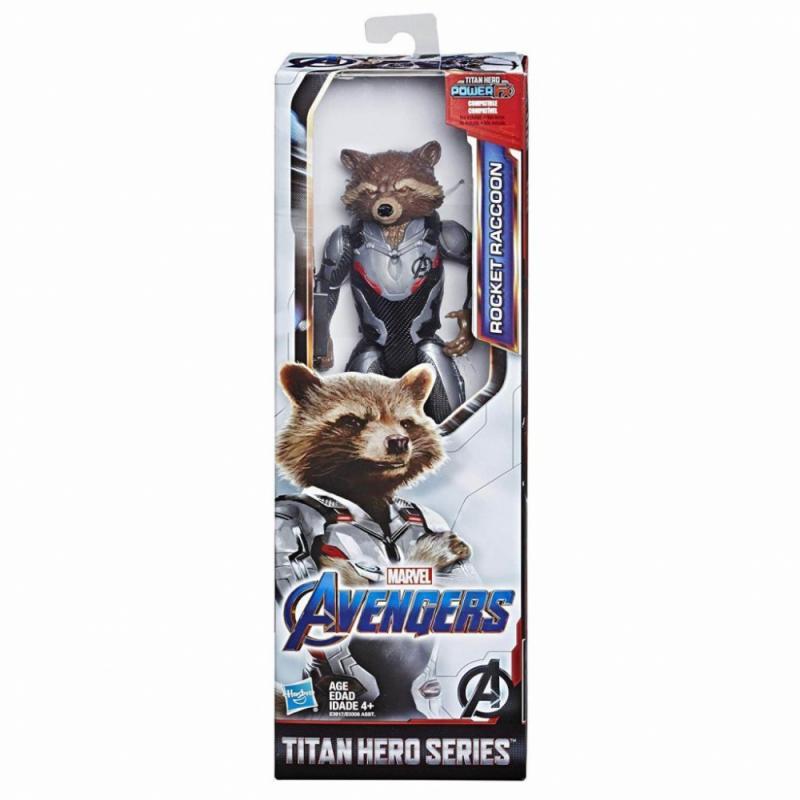 Hasbro Avengers 30cm figurka Titan hero AST B - Rocket Raccoon