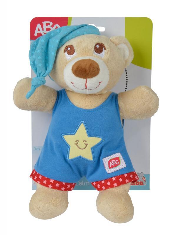 Simba Plyšový medvídek usínáček 25cm - Modrá barva