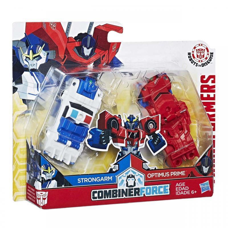 Hasbro Transformers RID Kombinátor - Strongarm a Optimus Prime HASBRO