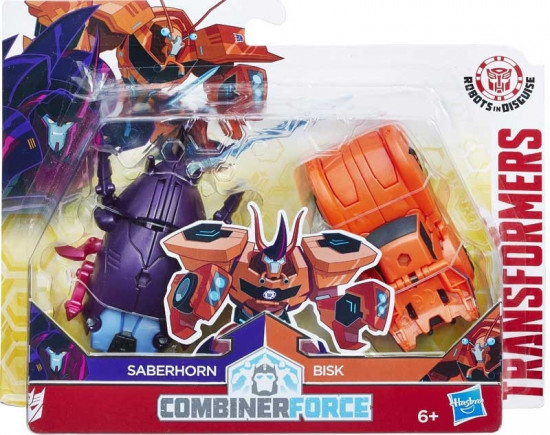 Hasbro Transformers RID Kombinátor - Saberhorn a Bisk HASBRO